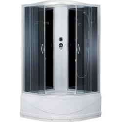 Душевая кабина ER3508TP-C4 800*800*2150 высокий (СЕРЫЙ) поддон, тонированое стекло
