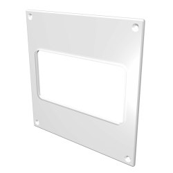 Накладка торцевая ЭРА НПП 620 264х119 для прямоугольного воздуховода 60х204