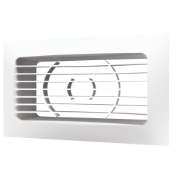 Решетка вентиляционная Эра РСФ 612 150х90 с фланцем 120х60