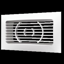Решетка вентиляционная Эра РСФ 620 234х90 с фланцем 204х60