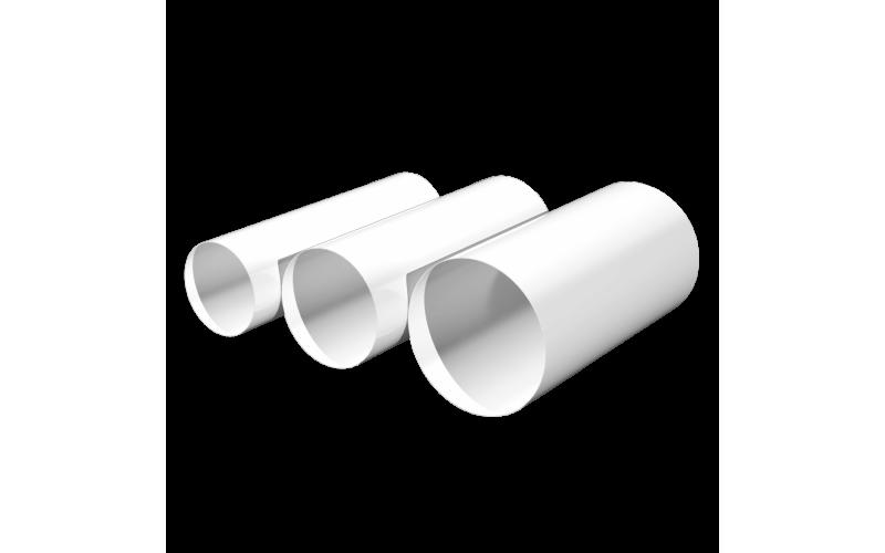 Воздуховод ЭРА ВП круглый ПВХ D100 длина 2м