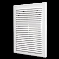 Решетка вентиляционная Эра Р 2525 разъемная с сеткой 249х249