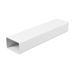 Воздуховод ЭРА ВП 620 1 м пластик прямоугольный