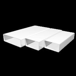 Воздуховод ЭРА ВП 620 1,5м пластик прямоугольный