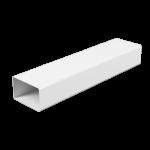 Воздуховод ЭРА ВП 620 2 м пластик прямоугольный