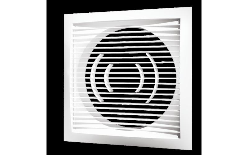 Решетка вентиляционная Эра РСФ 1515 150х150 с фланцем D100