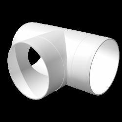 Тройник ЭРА ТП 10 Т-образный для круглых воздуховодов D100