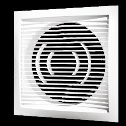 Решетка вентиляционная Эра РСФ 1717 170х170 с фланцем D125