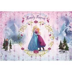 Фотообои Холодное сердце Эльза и сестра 368*254см KOMAR Frozen Family Forever (8 частей)