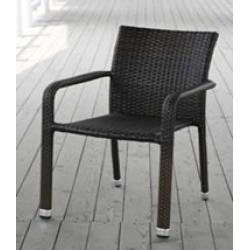 ТК-023 кресло из искусственного ротанга на металлическом каркасе