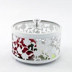 Конфетница стеклянная декоративная 6166 S