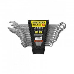 Набор комбинированных гаечных ключей 12шт 8-24мм STAYER  27085-H12