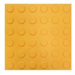 Тактильная плитка ПВХ для слабовидящих 30х30 см конусообразный риф