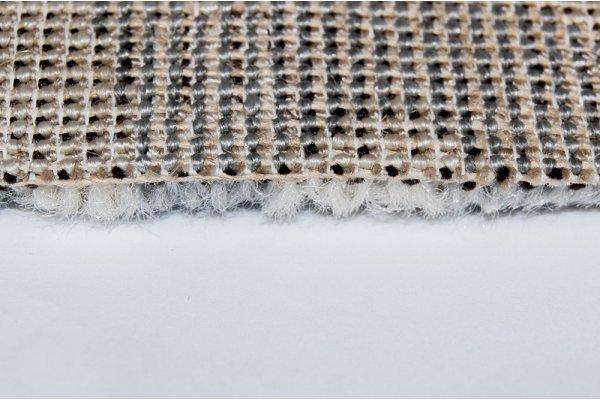 Бытовой ковролин Украина FRISE DAFFI 13021/116 Бежевый с серебряным узором 4,0м
