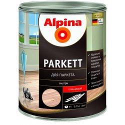 Лак алкидн. Alpina Для паркета (Alpina Parkett) глянцевый 750 мл / 0,683 кг (537847)