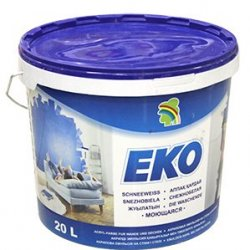 """Водно-дисперсионная краска """"ЭКО"""" (20л) 23 кг."""