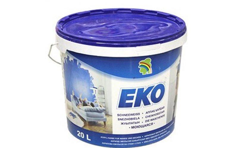 """Водно-дисперсионная краска """"ЭКО"""" (5л) 6.5 кг."""