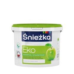 Краска эмульсия EKO Sniezka 3 литр белая