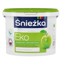 Краска эмульсия EKO Sniezka 5 литр белая