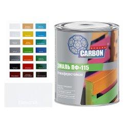 Эмаль ПФ 115 CARBON белый 0,8 кг