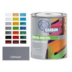 Эмаль ПФ 115 CARBON серый 0,8 кг