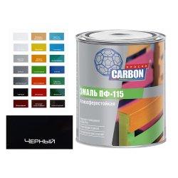Эмаль ПФ 115 CARBON черный 0,8 кг