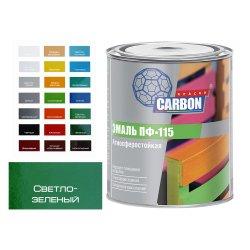 Эмаль ПФ 115 CARBON светло зеленый 2,6 кг