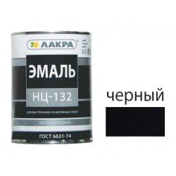 Эмаль НЦ-132 черный-0.7кг ЛАКРА