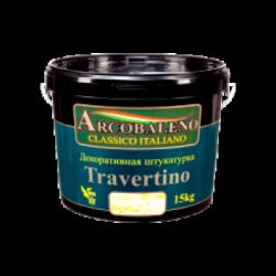 """Штукатурка декоративная """"Arcobaleno Travertino"""" 15 кг"""
