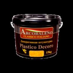 """Штукатурка декоративная """"Arcobaleno Plastico Decoro"""" 15 кг"""