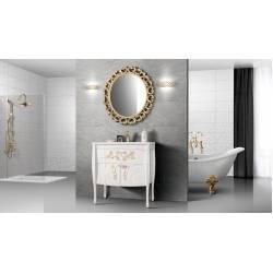 Зеркало Лувр В 80 золото