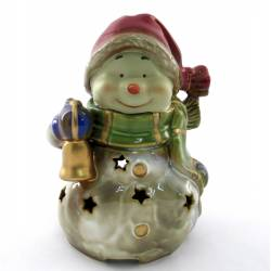 Снеговик музыкальный (керамика)