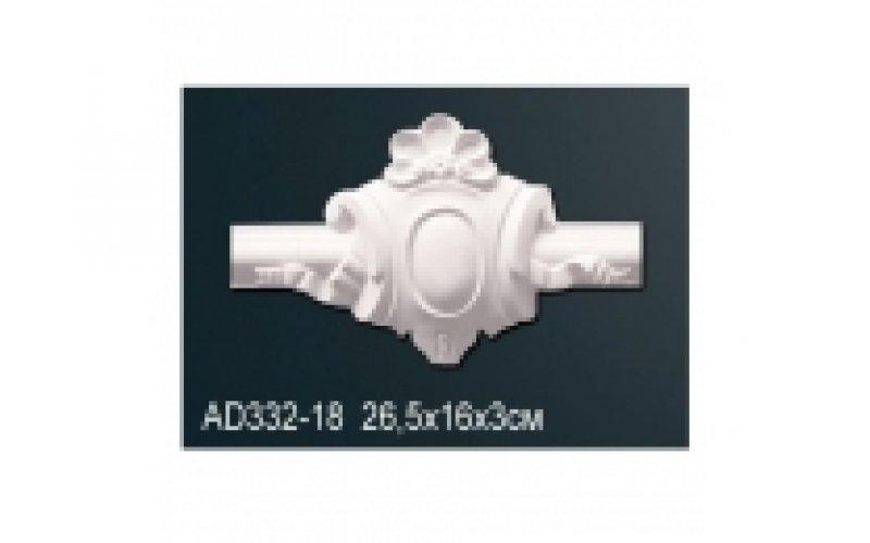 Декор профиль AD 332-18 (26.5*16*3) (вставка) (полиуретан)