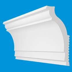Профиль(плинтус) декоративный потолочный N-80 (2000*72*30мм) (пенополистирол)