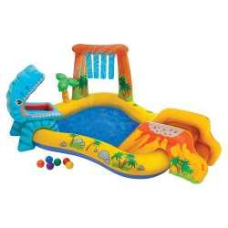Игровой центр с бассейном Dinosaur от 3 лет 241*191*109 см Intex (57444), 810-090