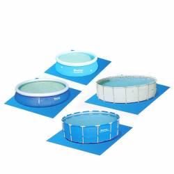 Ковер для надувных и каркасных круглых бассейнов 396*396 см Bestway (58002), 810-270