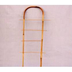 Лесенка для цв. из бамбука, овальная, 1.5 м (2)