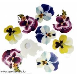 Цветок на липучке 12167