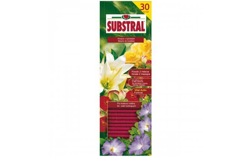 SUBSTRAL Палочки для цветущих, 30шт, 10125
