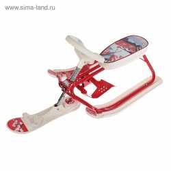 """Снегокат растущий СНК.10-03 """"Kiddy super"""" """"Авто"""""""