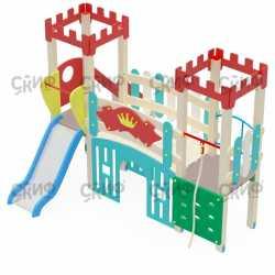 Детский игровой комплекс «Королевство» ДИК 1506 H=900