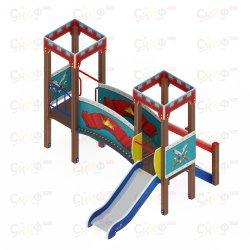 Детский игровой комплекс Королевство ДИК 1502 Н=750