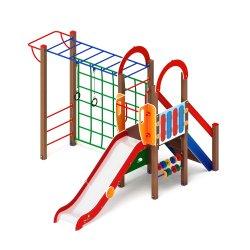 Детский игровой комплекс «Играйте с нами» ДИК 105 H=1200