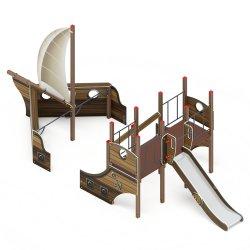 Детский игровой комплекс «Парусники» ДИК 2.03.3.01-01(1301.1 H=1200)