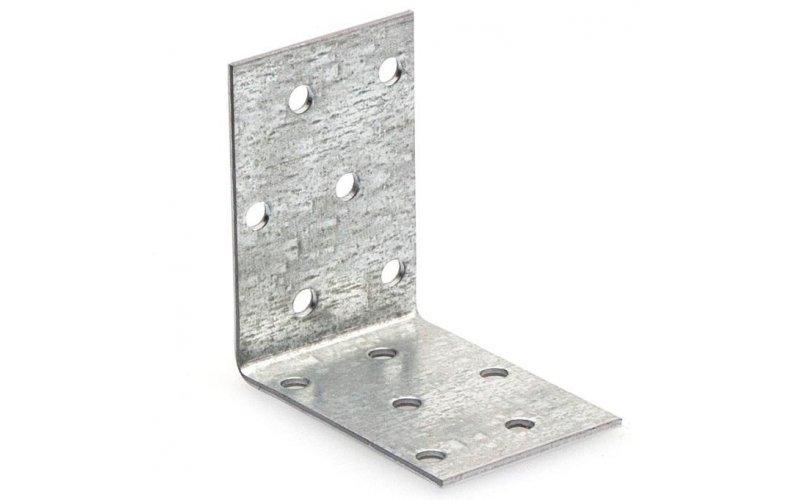 Крепежный уголок равносторонний 60х60х40х2,0мм оцинкованный
