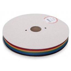 Ремень полипропиленовый 25 мм разноцветный (30 м)