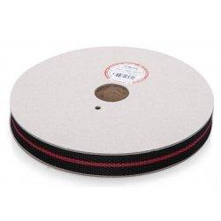 Ремень полипропиленовый 25 мм черный/красный (30 м)