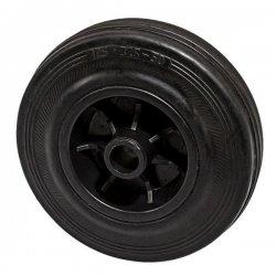 Колесо 125 мм пластмассовое с резиновой шиной