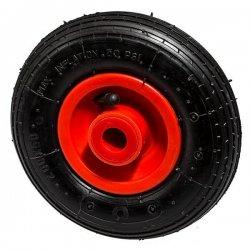 Колесо 200 мм пластмассовое с надувной шиной