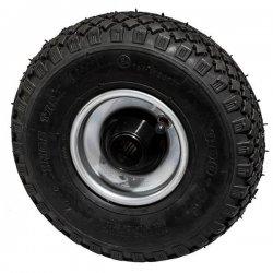 Колесо 260 мм стальное с надувной шиной